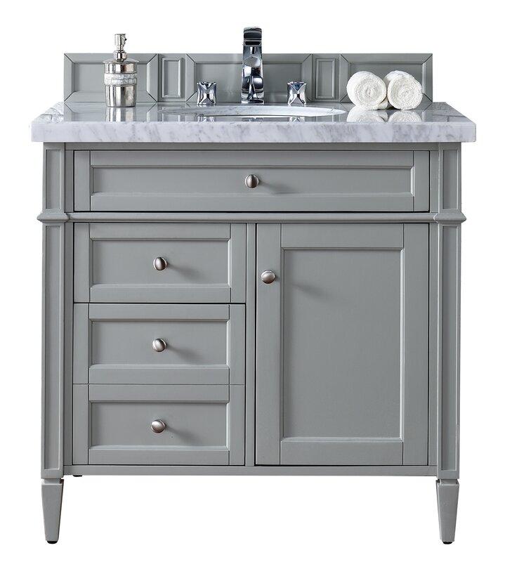 "Bathroom Vanity Base james martin furniture brittany 36"" single bathroom vanity base"