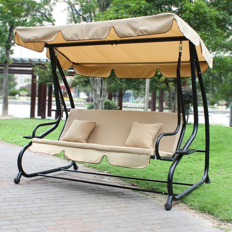 outdoor holmescounty furniture made hershy product amish oh porch swing way