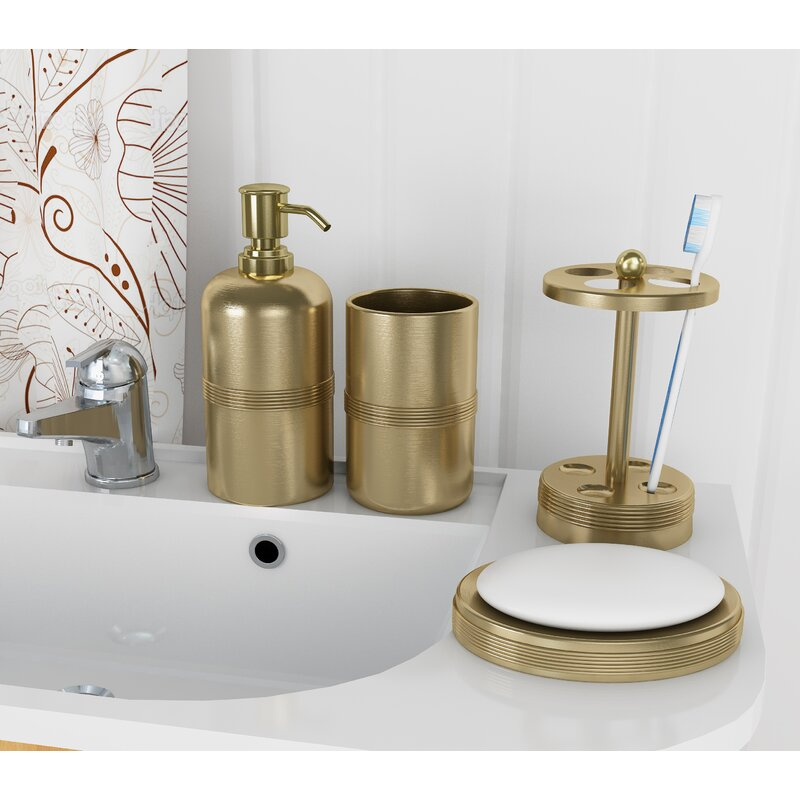 Wester 4 Piece Bathroom Accessory Set