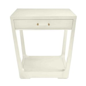 Oasis Meridian End Table with Storage
