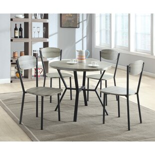 Felicia 5 Piece Dining Set