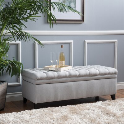 Marvelous Saito Storage Ottoman Gray Ottomans Poufs Youll Love Onthecornerstone Fun Painted Chair Ideas Images Onthecornerstoneorg