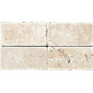 Rustic Tumbled 4 X 8 Travertine Field Tile In Ivory