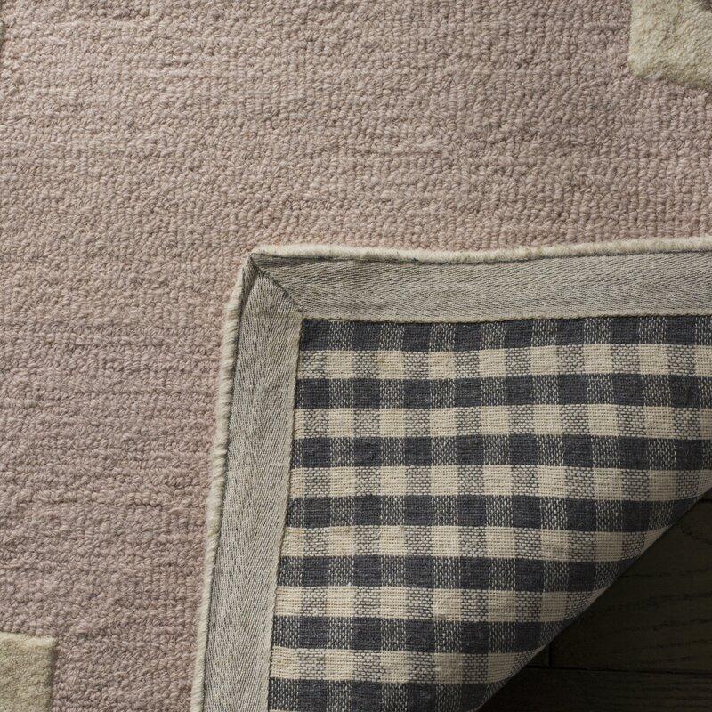 safavieh handgefertigter teppich clark in hellrosa. Black Bedroom Furniture Sets. Home Design Ideas
