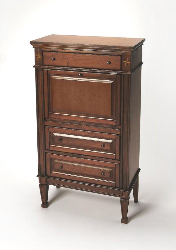 plantation cherry armoire desk