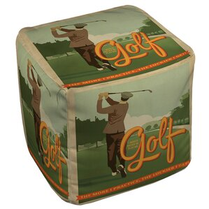 Golf Bad Day Ottoman by Manual Woodworkers &..