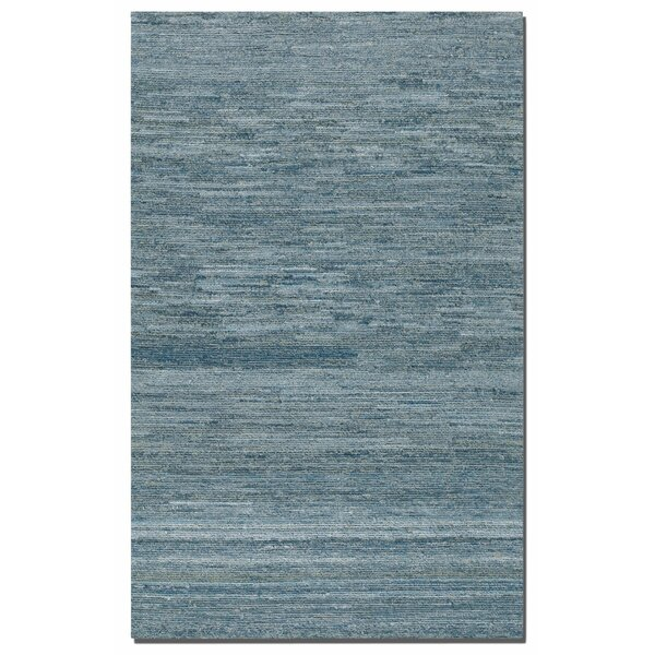 Brayden Studio Hubbard Rescued Light Blue Dark Gray Area Rug Reviews Wayfair