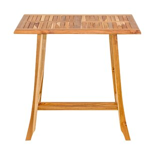 Teak Pub Tables Bistro Sets Youll Love Wayfair - Teak pub table and chairs