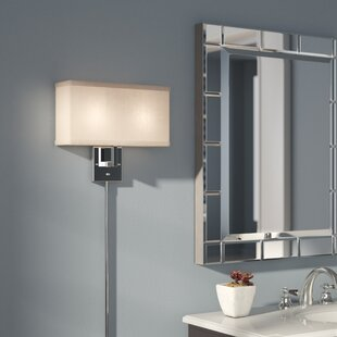 Good Puccio 2 Light Plug In Armed Sconce