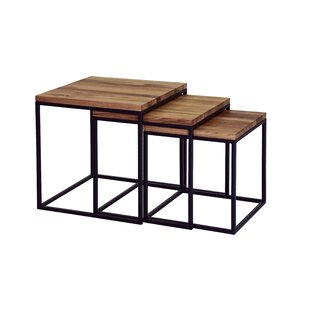 Gia Piece Nest Of Tables By Williston Forge Free Returns - 3 piece nesting coffee table