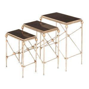 Jolinda 3 Piece Nesting Tables by Willa Arlo Interiors