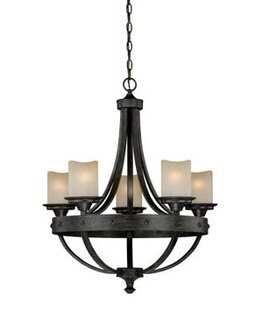Large round candle chandelier wayfair galyon candle style chandelier aloadofball Images