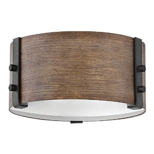 Truc 2-Light Outdoor Flush Mount