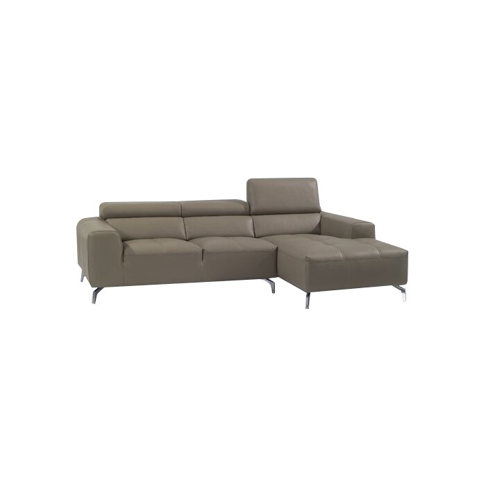 Awe Inspiring Alden Leather Sectional Gmtry Best Dining Table And Chair Ideas Images Gmtryco