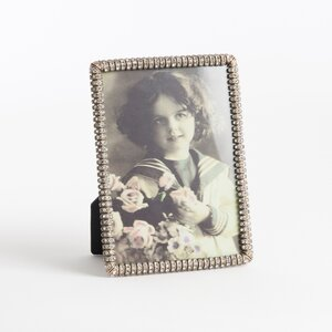 Jeweled Photo Picture Frame