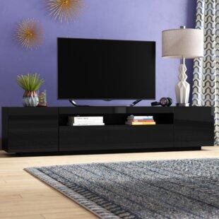 Black High Gloss Tv Stand Wayfair