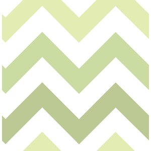 Zig Zag Peel And Stick Wallpaper