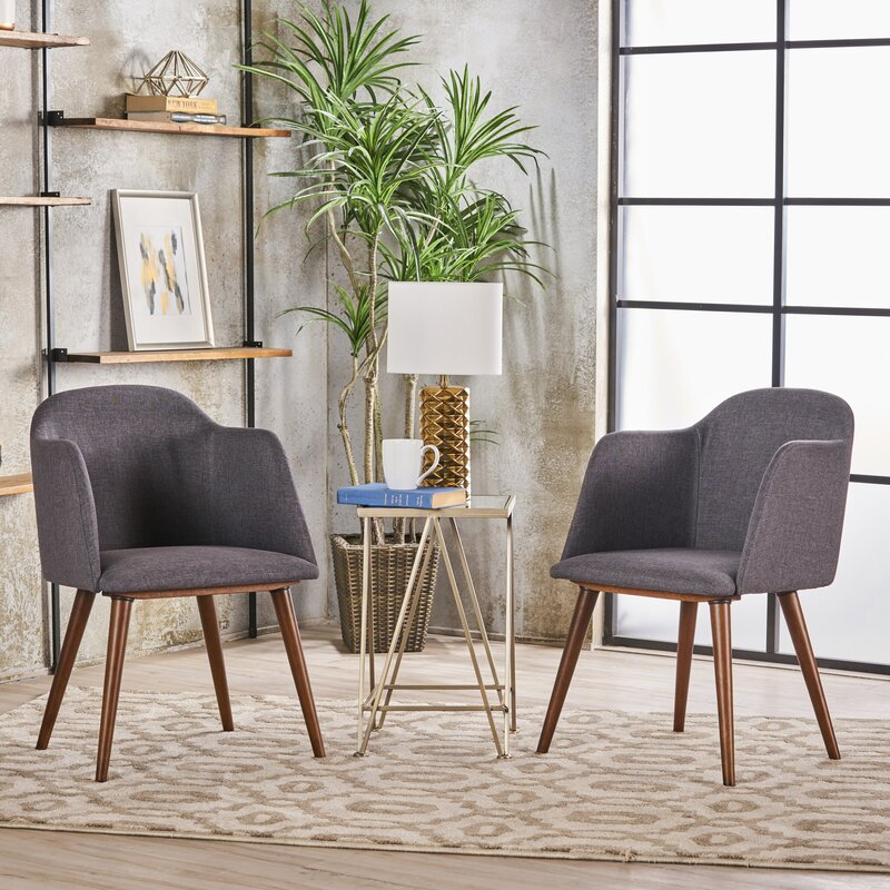 newington upholstered dining chair set of 2