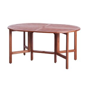 Phat Tommy Celebration Extendable/Folding Wood Dining Table