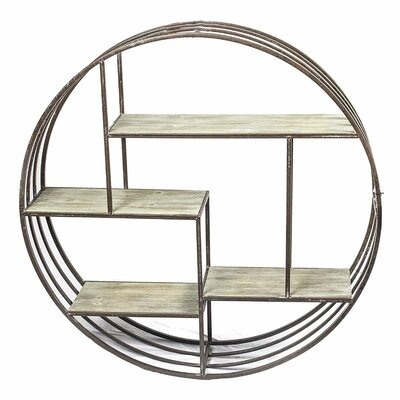 Metal Round Wall Shelf Wayfair