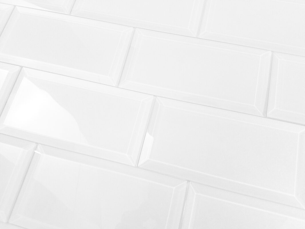 Abolos frosted elegance 3 x 6 glass subway tile in glossy white frosted elegance 3 x 6 glass subway tile in glossy white dailygadgetfo Images