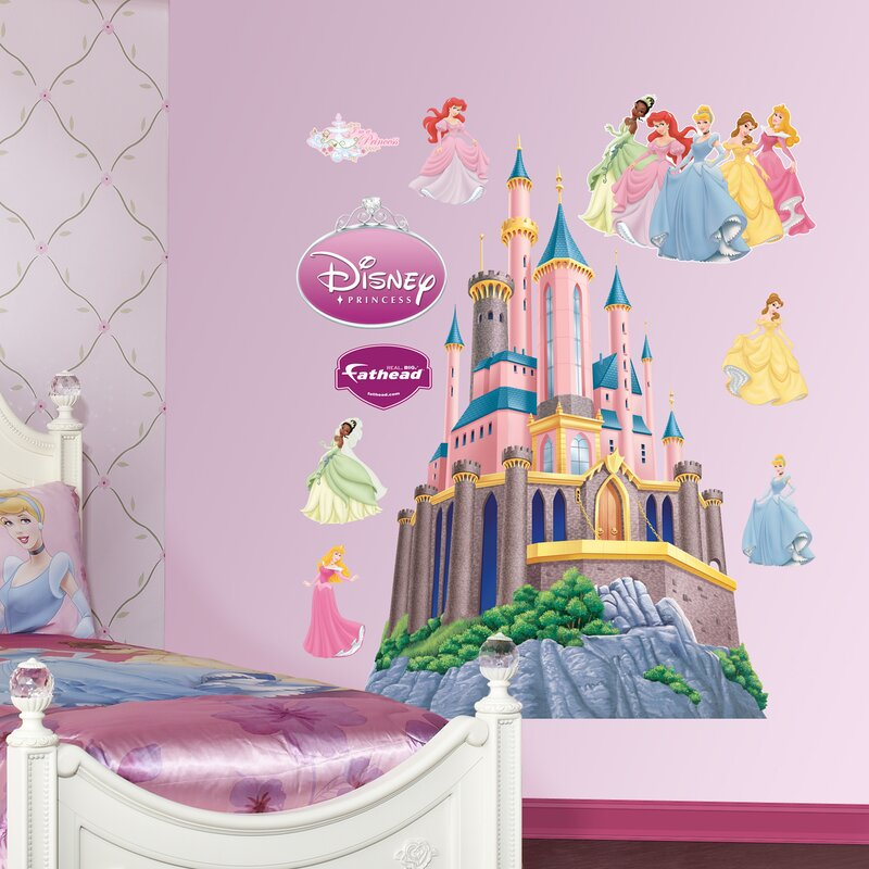 Ordinaire Disney Princess Castle Wall Decal