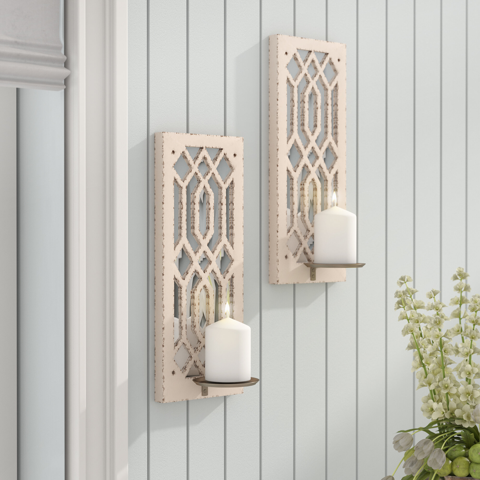 Lark Manor Deco Mirror Wall Sconce & Reviews | Wayfair