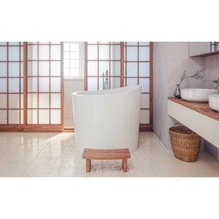 True Ofuro Mini 43 X Freestanding Soaking Bathtub