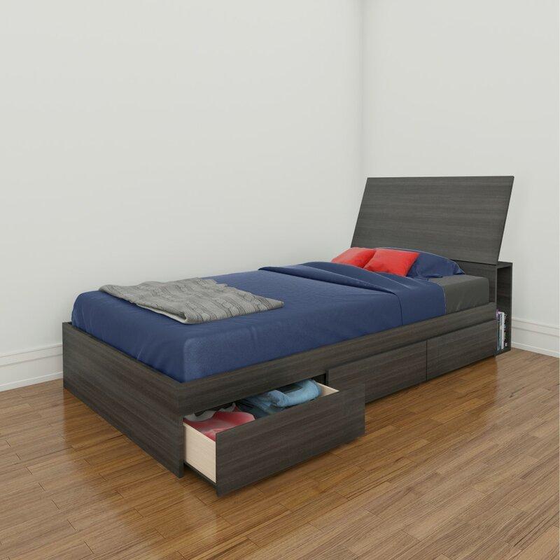 Maryjo Storage Platform Bed