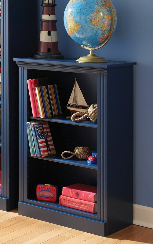 "Blue Bookcase lang furniture madison 37"" bookcase & reviews 