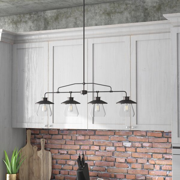 Trent Austin Design Wycoff 4-Light Kitchen Island Pendant & Reviews ...