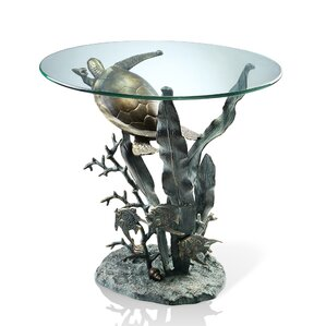 Turtle Sea End Table by SP..