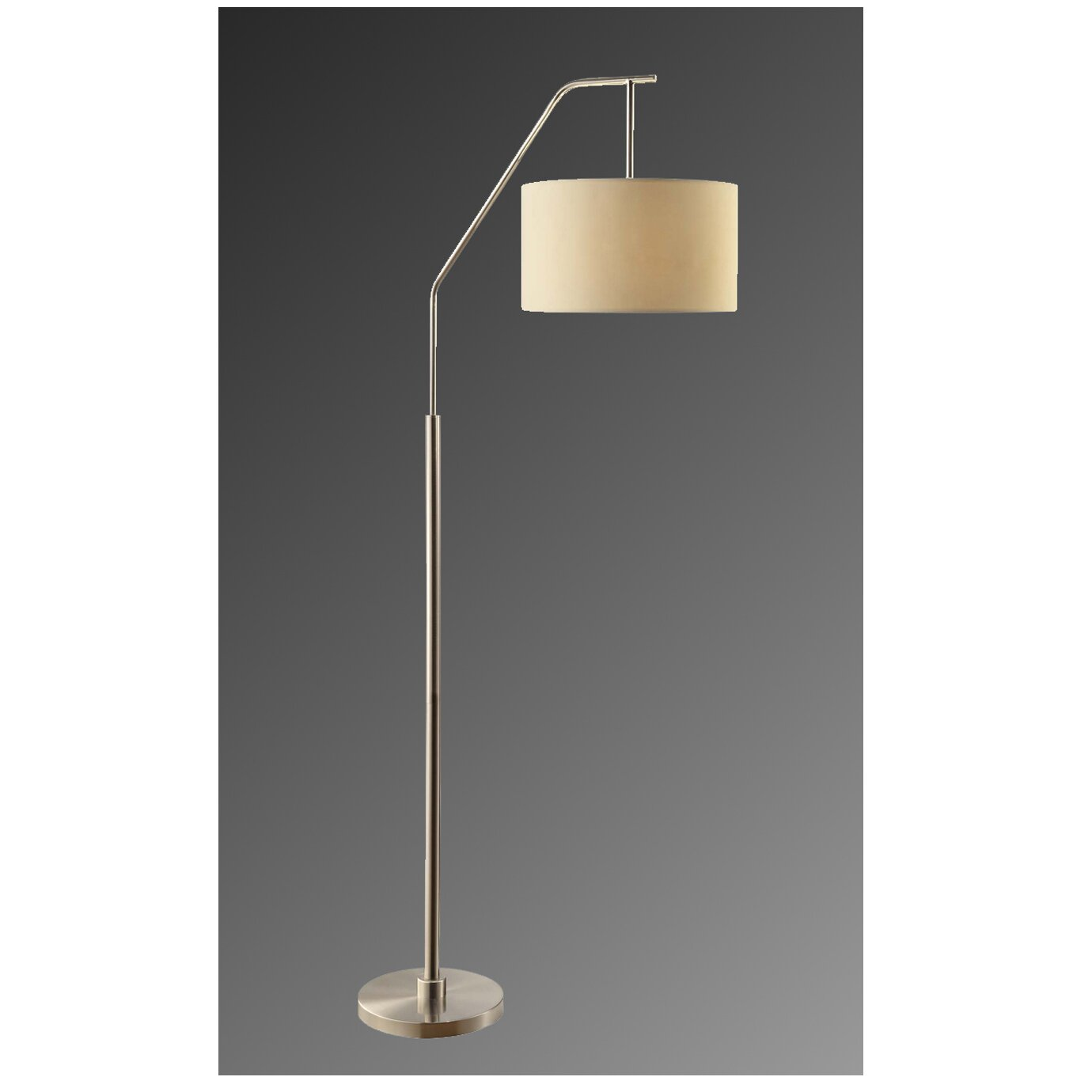 crestview dinsmore 72quot arched floor lamp reviews wayfair With dinsmore 1 light floor lamp