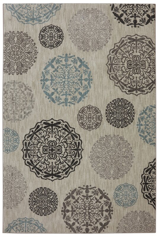 Reflections Bob Timberlake Dragonfly Medallion Abyss Area Rug