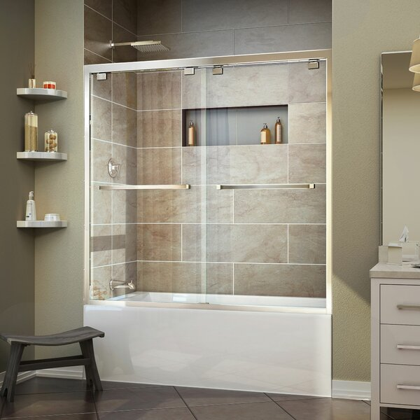 Dreamline Encore 60 Quot X 58 Quot Bypass Single Sliding Tub Door