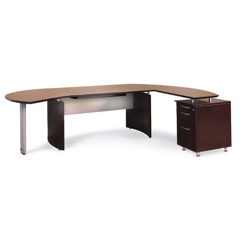 Napoli 72 W Right Desk Return
