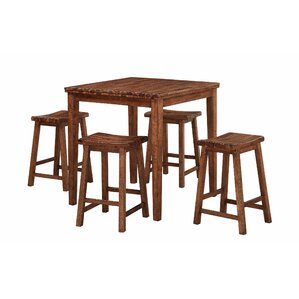 Blanco Point 5 Piece Dining Set by Loo..