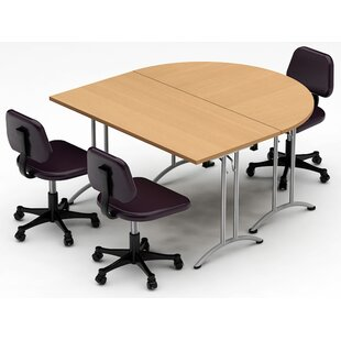 HalfRound Conference Tables Youll Love Wayfairca - Half circle conference table
