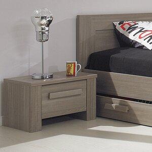 Nachttisch Hangun mit 1 Schublade von Gami