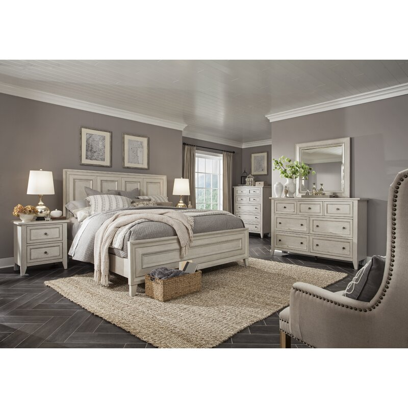 stoughton panel configurable bedroom set - Bedroom