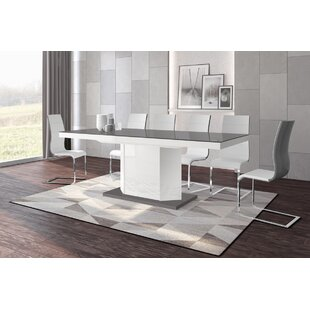 Borough Storage Extendable Dining Table