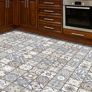 Walkot 120x60 cm Mosaic Tile in Grey/Brown by World Menagerie