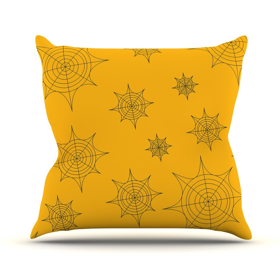 Kess Inhouse Mini Webs Throw Pillow Wayfair