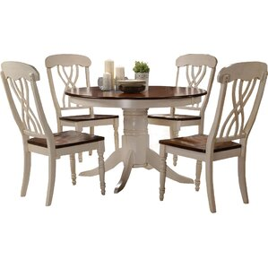 Donnelly 5 Piece Dining Set by One Allium Way