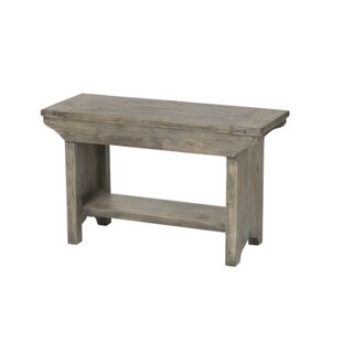 Jaliyah Small Wood Bench