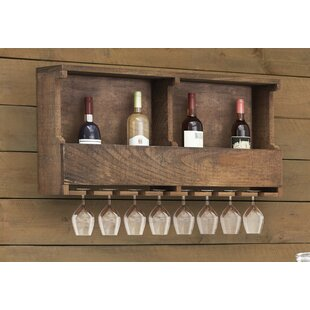 Bosworth 8 Wall Mounted Wine Rack