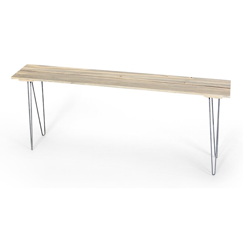 Ordinaire Slat Style Entry Table