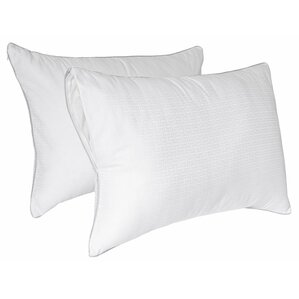 Tailor Fit Downier Fiberfill Zippered Pillow Enhancer  (Set of 2) by Perfect Fit Industries