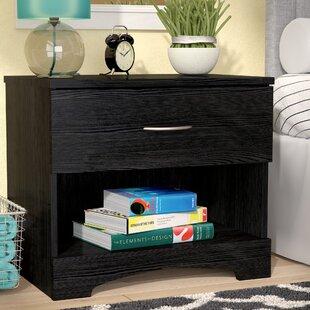 Nightstand With Hidden Storage | Wayfair
