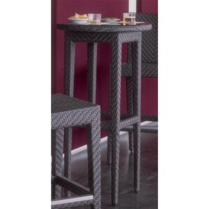 Superb Soho Patio Wicker Pub Table Awesome Design
